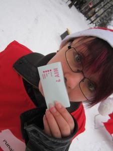 Tein myös vapaaehtoistyötä Maailmanlaajuisessa AIDS-päivässä 1.12.